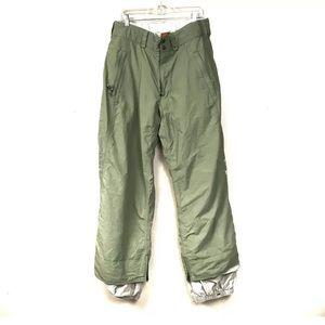 Burton Green ski snowboard pants L